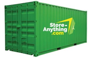 Store-Anything Container mit Logo